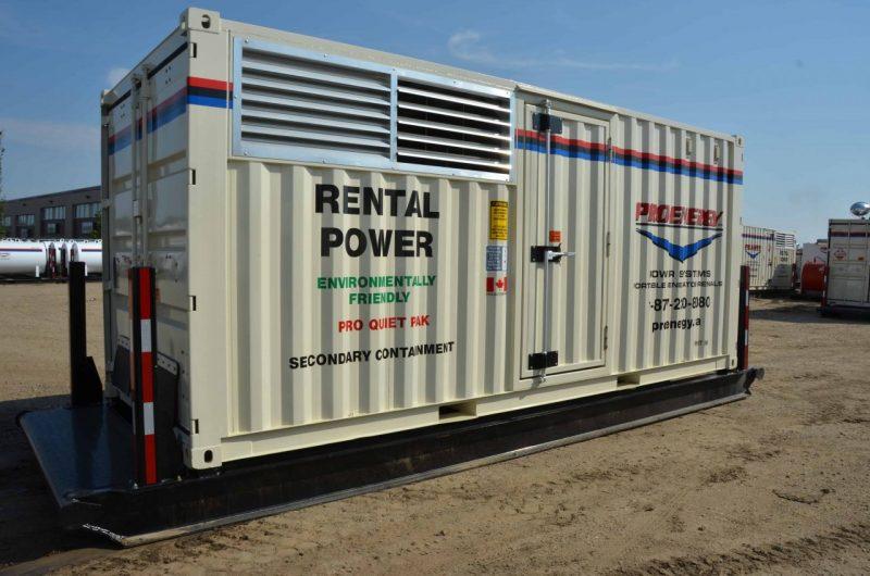 100 – 150 KW Twin Pak Diesel Generator